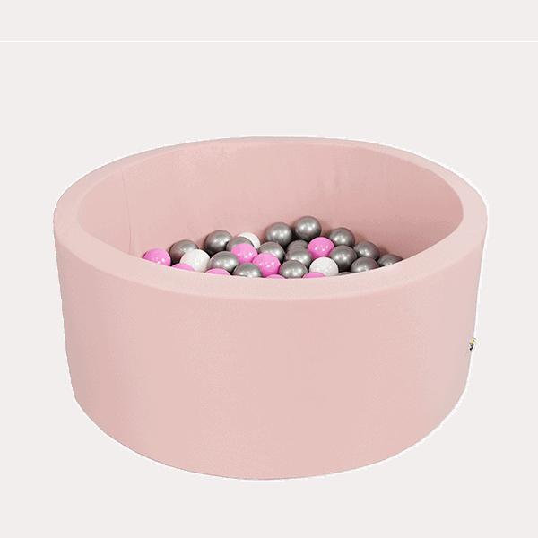 Bällebad Smart - Klein-Rund, Pink