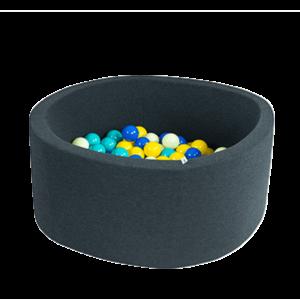 Bällebad Smart - Klein-Rund, Graphit