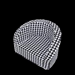 Sitz – Smart, Schwarz Weisse Dreiecken