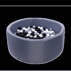 Bällebad Active - 115x50cm - Graphit
