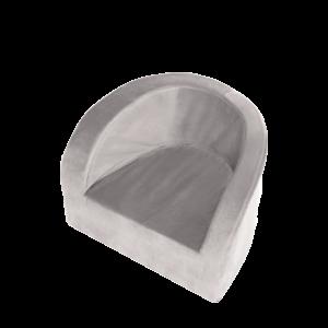 Sitz – Velvet, Grau