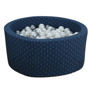 Bällebad Geometrisch - Marineblau