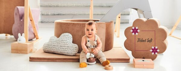 bällebad baby - kollektionen Velvet