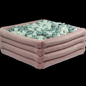 Bällebad Comfort+ Quadratish Pink