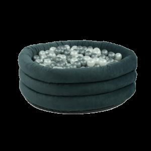 Bällebad Comfort+ Rund Grau