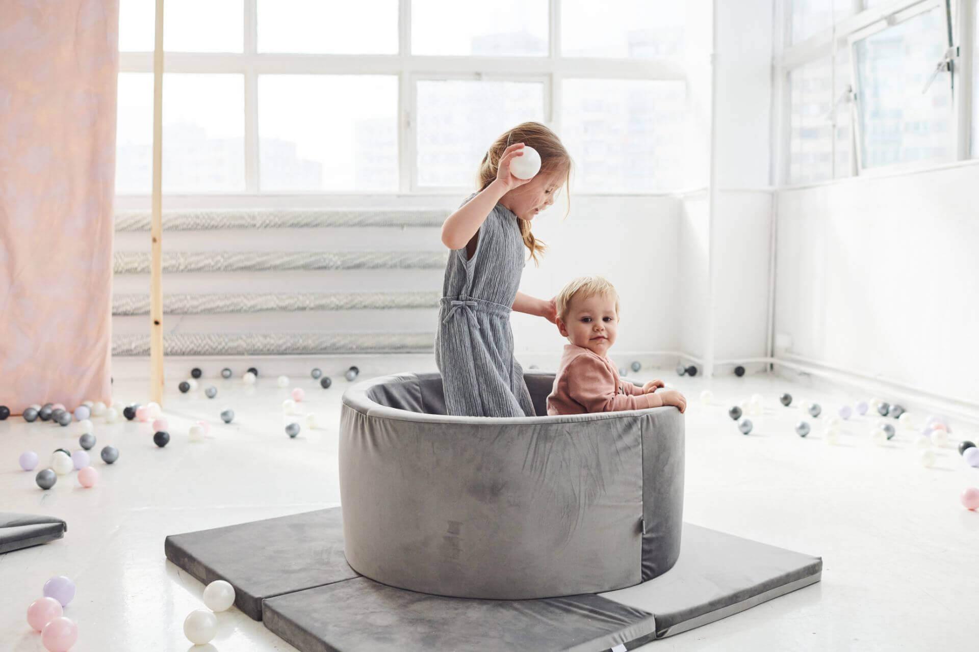 Welche Bällebad Kolektion wird für Sie perfekt sein?