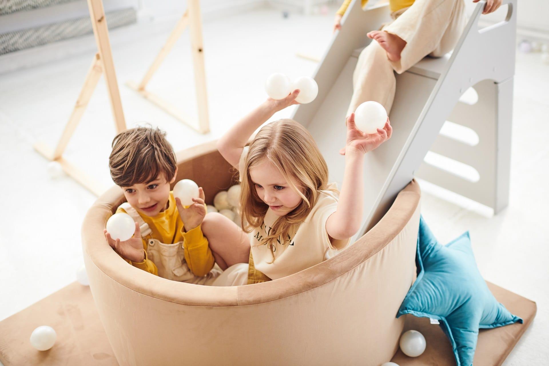 Ist es möglich, einen Spielplatz für Kinder zu Hause einzurichten?