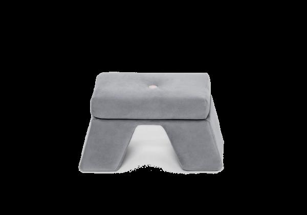 Fußstütze Premium, Grau