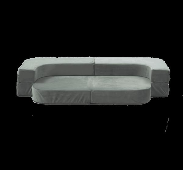 Sofa-Bett, Grau